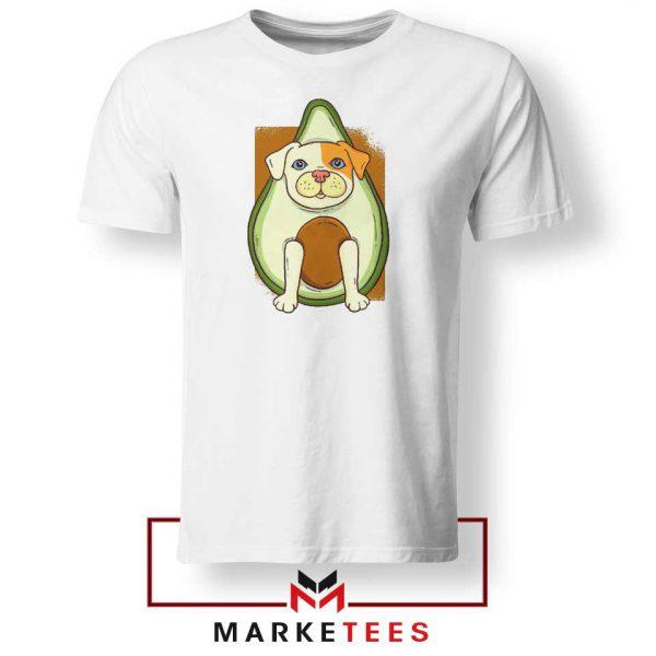 Avocado Vegan Dog Graphic Tshirt