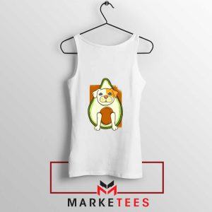 Avocado Vegan Dog Tank Top