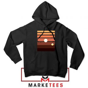 Binary Sunset Star Wars Best Black Hoodie