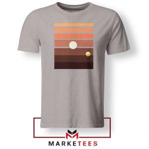 Binary Sunset Star Wars Best Sport Grey Tshirt