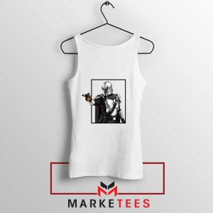 Boba Fett Design Star Wars Tank Top