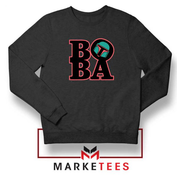 Boba Fett TV Series Best Black Sweatshirt