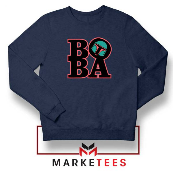 Boba Fett TV Series Best Navy Blue Sweatshirt