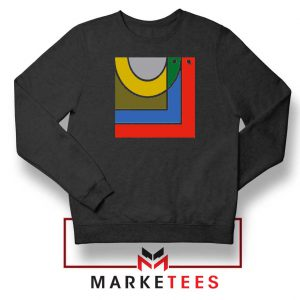 Bon Iver Band New Album Logo Black Sweatshirt