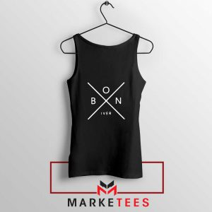 Bon Iver Band X Logo Design Tank Top