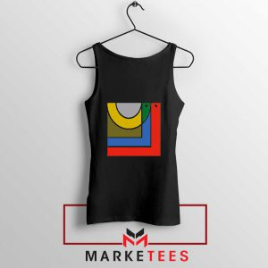Bon Iver New Music Album Logo Black Tank Top