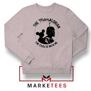 Galaxy Edge Mom Mickey Sport Grey Sweatshirt