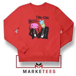 Hazel Cha Cha Academy Red Sweatshirt