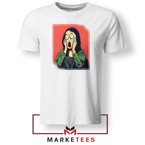 Mona Lisa Cartoon Design Tshirt