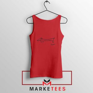 Pablo Picasso Lump New Red Tank Top