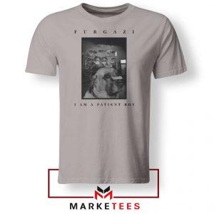 Patient Boy Puppy Dog Furgazi New Sport Grey Tshirt