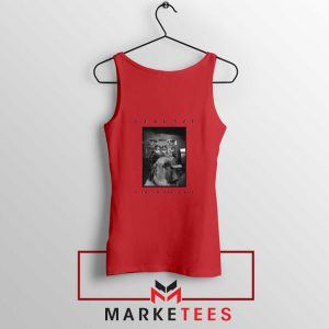 Patient Boy Puppy Dog Furgazi Red Tank Top