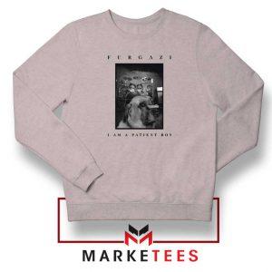 Patient Boy Puppy Dog Furgazi Sport Grey Sweatshirt