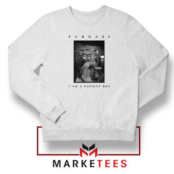 Patient Boy Puppy Dog Furgazi Sweatshirt