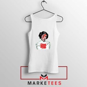 Princess Leia Rebel David Bowie Tank Top