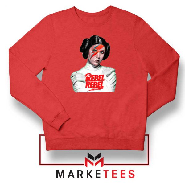 Princess Leia Rebel Rebel Red Sweatshirt