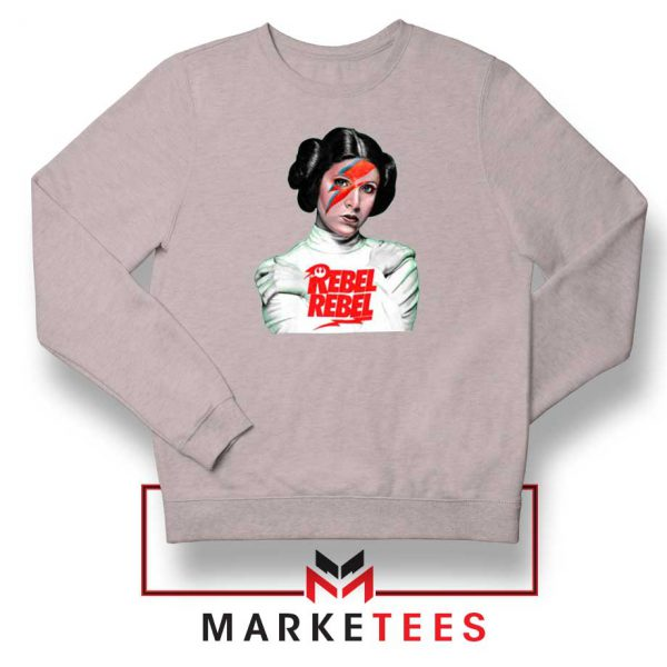 Princess Leia Rebel Rebel Sport Grey Sweatshirt