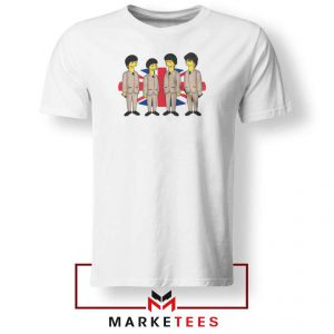 Simpsons Beatles Band Best Tshirt