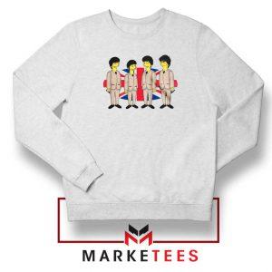 Simpsons Beatles Band Sweatshirt