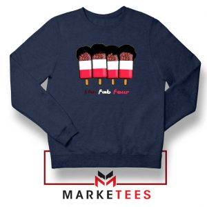 The Fab Four Tribute Band Navy Blue Sweatshirt