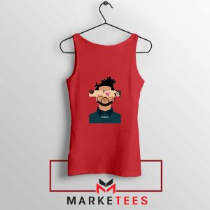 The Weeknd Xo Ovo Tour 2015 Red Tank Tops