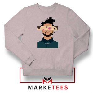 The Weeknd Xo Ovo Tour 2015 Sport Grey Sweatshirt