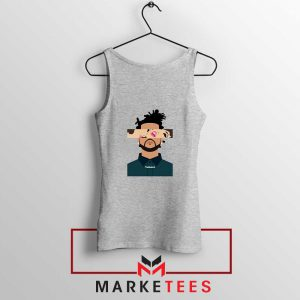 The Weeknd Xo Ovo Tour 2015 Sport Grey Tank Tops
