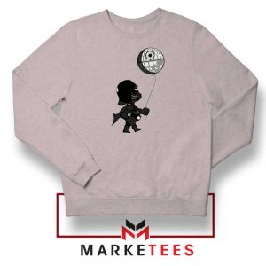 Baby Vader Balloon Banksy Sport Grey Sweatshirt