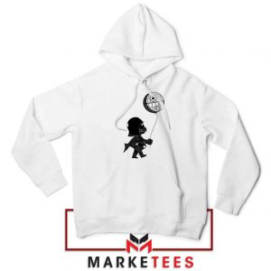 Baby Vader Balloon Banksy Style Hoodie
