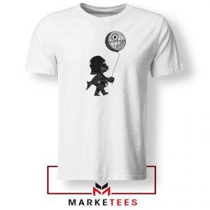 Baby Vader Balloon Banksy Style Tshirt