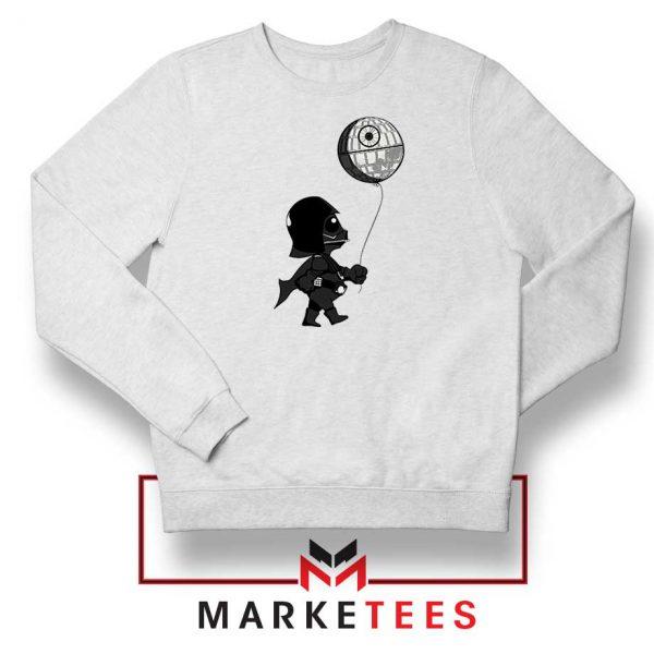 Baby Vader Balloon Banksy Sweatshirt