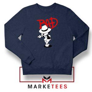 Bad Dog Jackson Style Best Navy Blue Sweatshirt