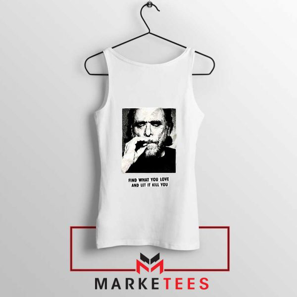 Bukowski Quotes Cool Best White Tank Top