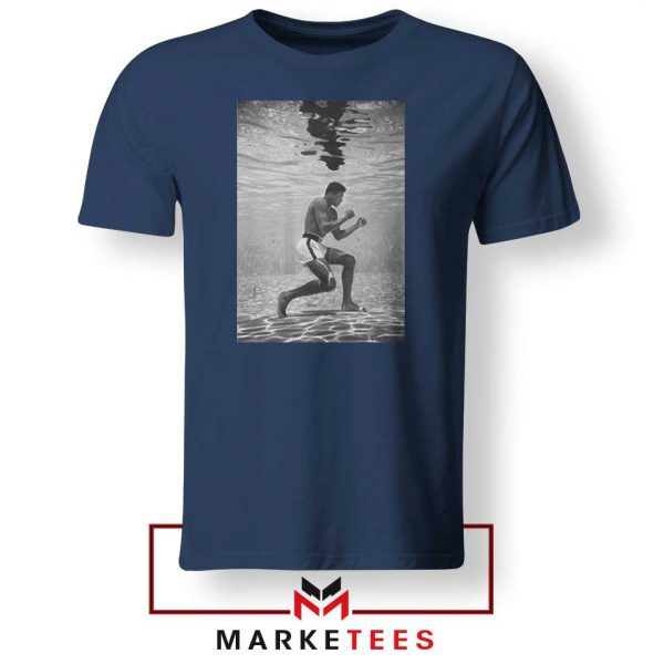 Cassius Clay Best Vintage Navy Blue Tshirt