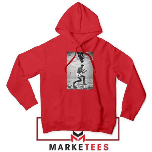 Cassius Clay Vintage 2021 Red Hoodie