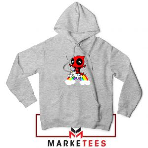 Deadpool Film Unicorn Hoodie