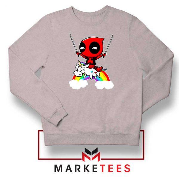 Deadpool Marvel Unicorn Sweatshirt
