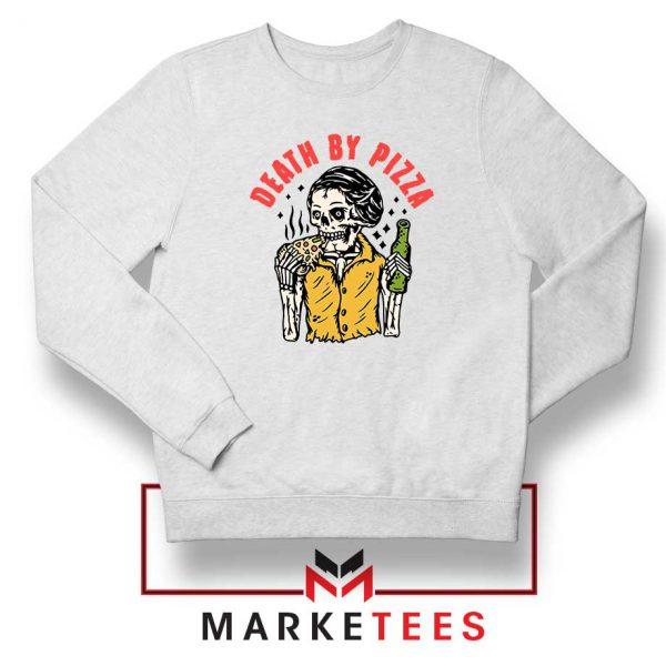 Death By Pizza Italian New Sweatshirt