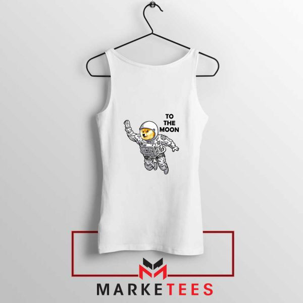 Dogecoin To The Moon Cheap Tank Top