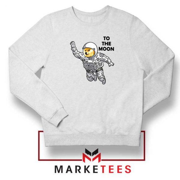 Dogecoin To The Moon Sweatshirt