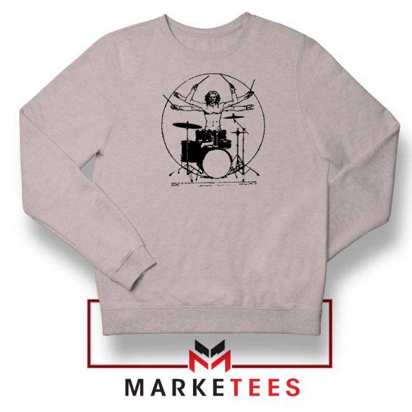 Drummer Band Best Music Sport Grey Sweatshirt