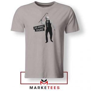 Einstein Stupid Slogan 2021 Sport Grey Tshirt