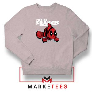 Finding Francis Deadpool Sport Grey Sweatshirt