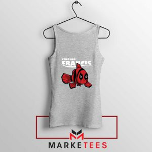 Finding Francis Deadpool Sport Grey Tank Top