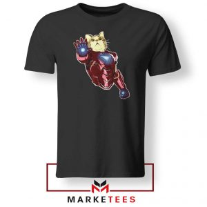 Iron Cat Marvel 2021 Black Tshirt