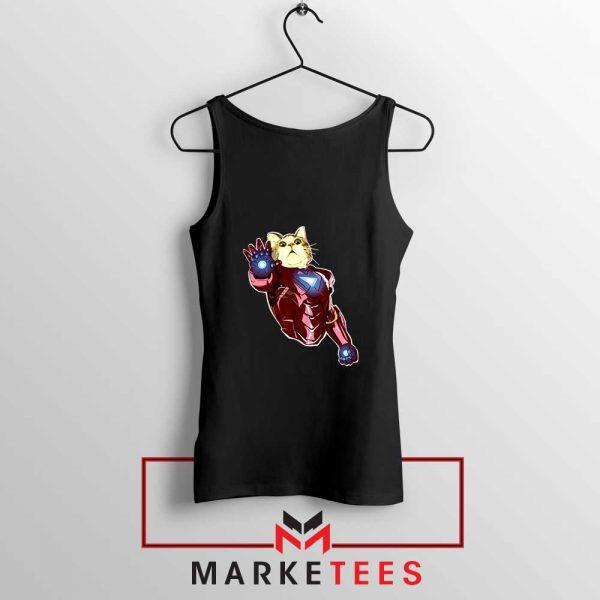 Iron Cat Marvel Comics 2021 Black Tank Top