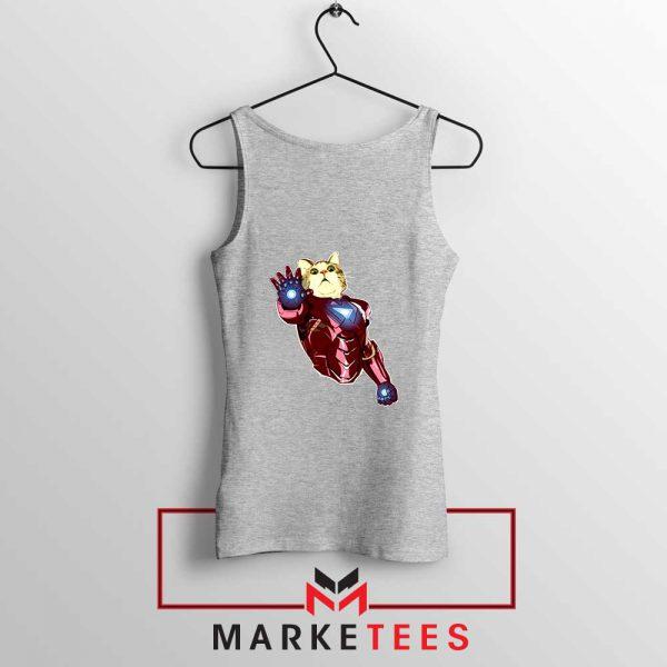 Iron Cat Marvel Comics 2021 Sport Grey Tank Top