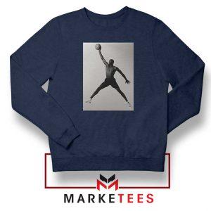 Jordan Fly NBA 2021 Best Navy Blue Sweatshirt