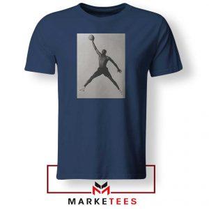 Jordan Fly NBA 2021 Best Navy Blue Tshirt