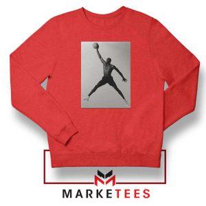 Jordan Fly NBA 2021 Best Red Sweatshirt